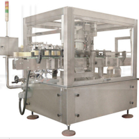Double Side Stick Labeling Machine (Rotary type)