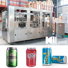 4000BPH Carbonated Soft Drink Can Filling Machine
