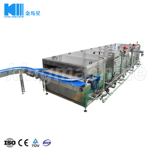 Tunnel pasteurizer / Bottle Warmer / bottle warming tunnel