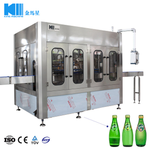 3 in 1 Monoblock Automatic Sparkling Water Drinks Bottling Machine