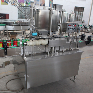 6 Heads Can Sealing Machine