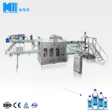 3-in-1 Mineral Water Filling Capping Machine 12000BPH