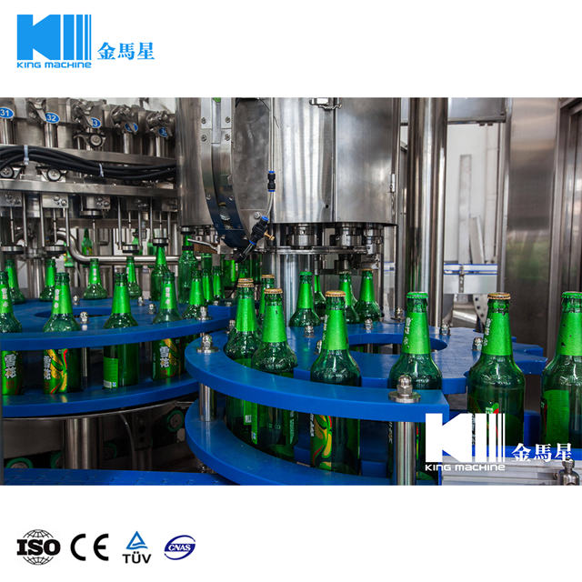 Glass Bottle Beer Filling Machine 18000BPH