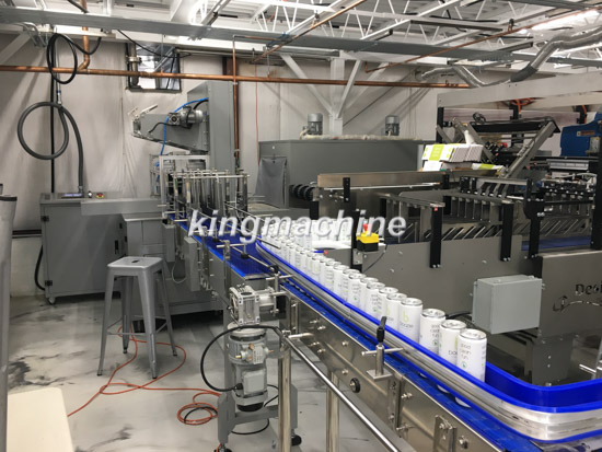 can packing line