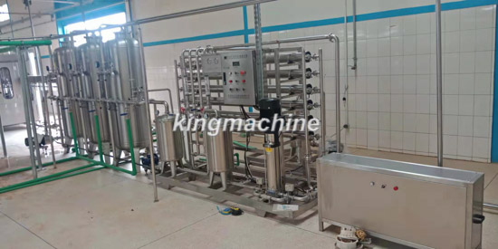 china kingmachine 3000bph csd production line Installed in Burkina Faso