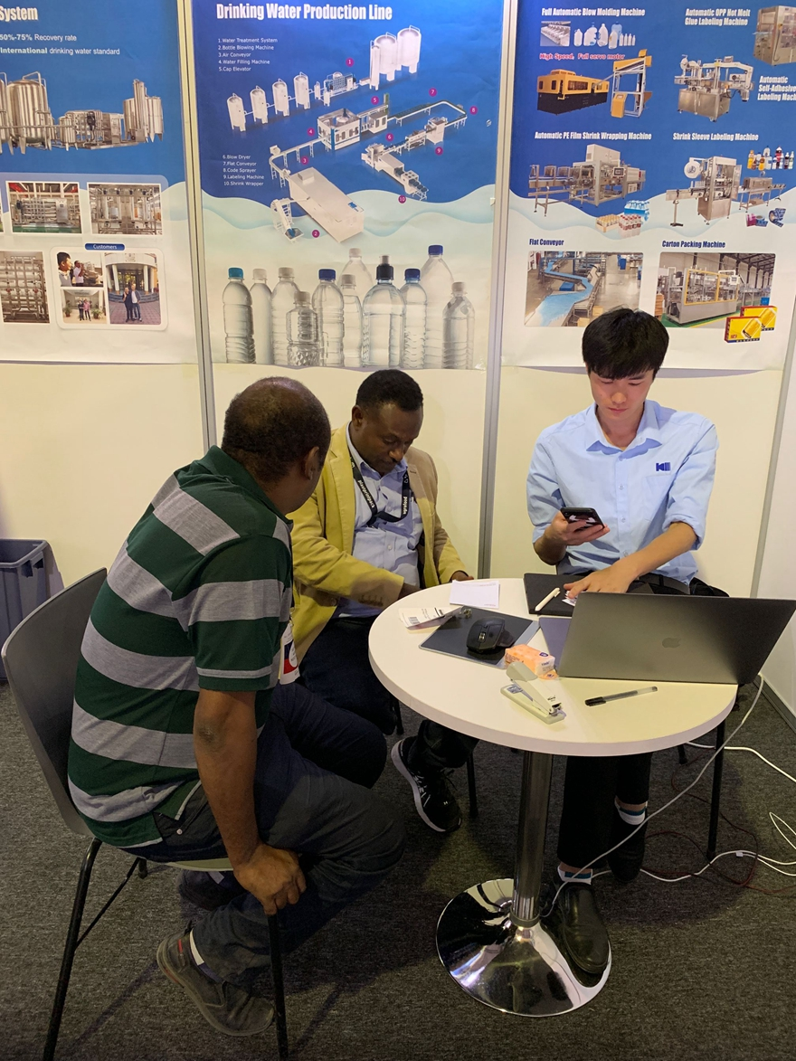 KING MACHINE IN ETHIOPIA AGRI, FOOD & PACK EXPO 2019
