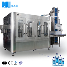 3000BPH Water Washing Filling Capping Machine (3-in-1) CGF14-12-4