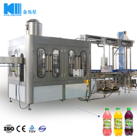 Aseptic Juice Drinking Bottling Machine 5000BPH RCGF 18-18-6