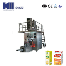 Tetraic Brick Beverage Filling Machine
