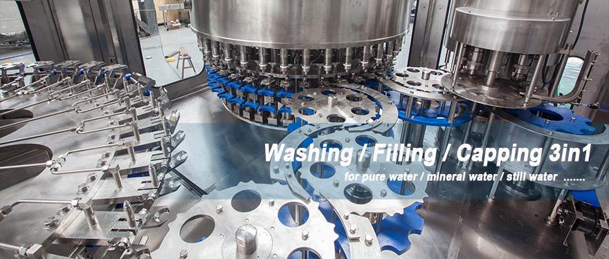 washing filling capping