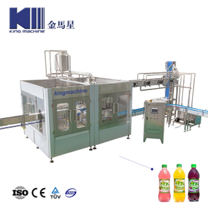 Automatic Asepsis Mango Juice Bottle Filling Plant Machine Monoblock