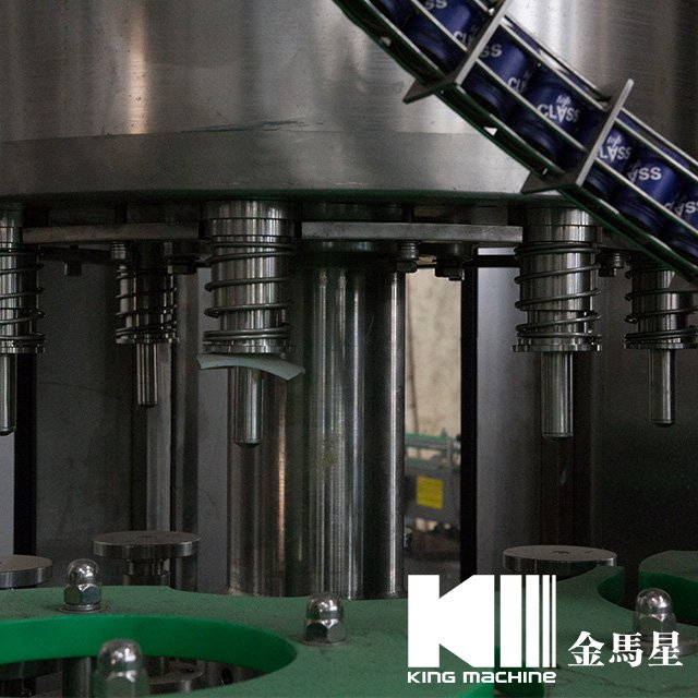 Negative Glass Bottle Filling Machine