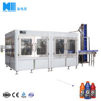 Automatic Energy Drinks Bottling Plant Machine Monoblock